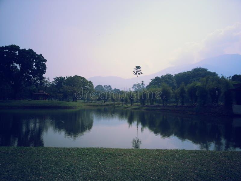 Malaysia Taiping parkerar royaltyfria foton