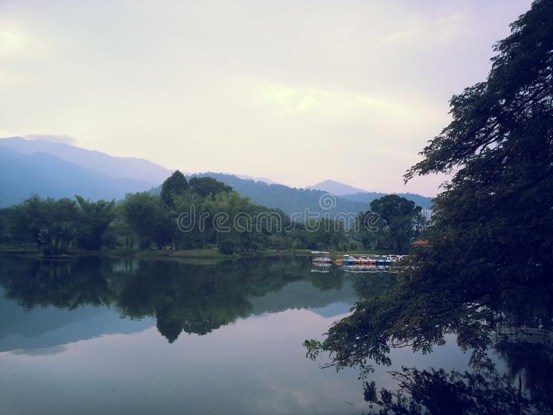 Malaysia Taiping Winter park. One royalty free stock photography