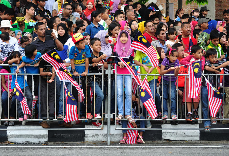 Malaysia 57th Independence Day Parade. royalty free stock image