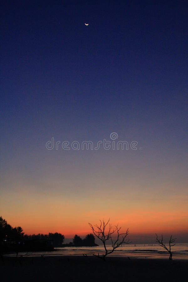 Download Malaysia West Coast Morning Sky Stock Image - Image: 12281893