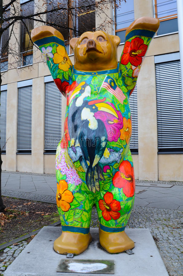 Malaysian Berlin Bear stock images
