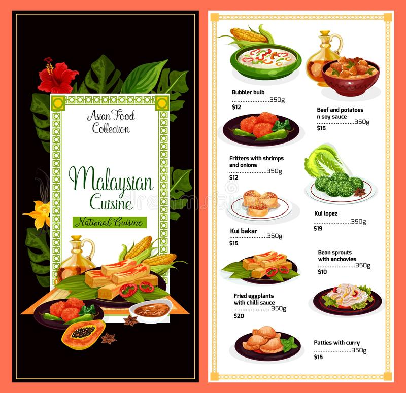 Free Malaysian Cuisine, Traditional Asia Dish Meal Menu Stock Photo - 165552190