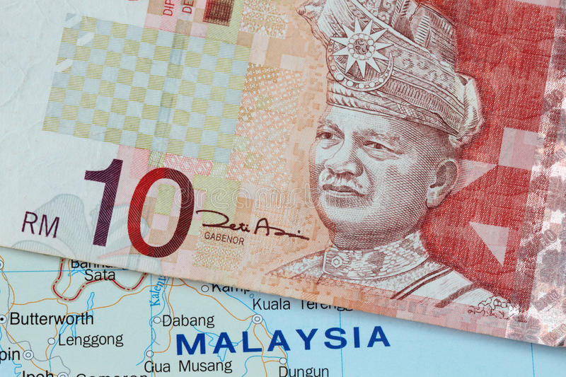 Malaysian currency royalty free stock images