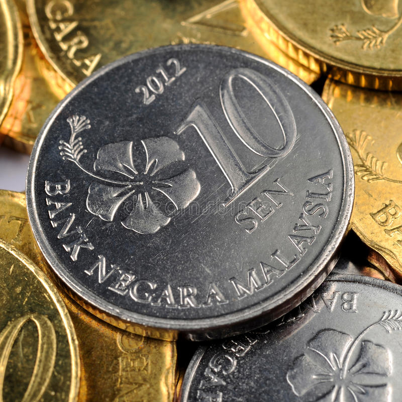 Malaysian Currency royalty free stock photo