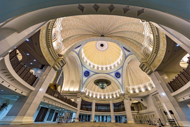Malaysian Federal Territory Mosque stock photos