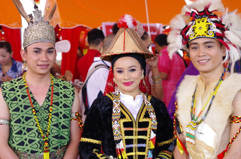 Malaysian Folkloric dancers royalty free stock image