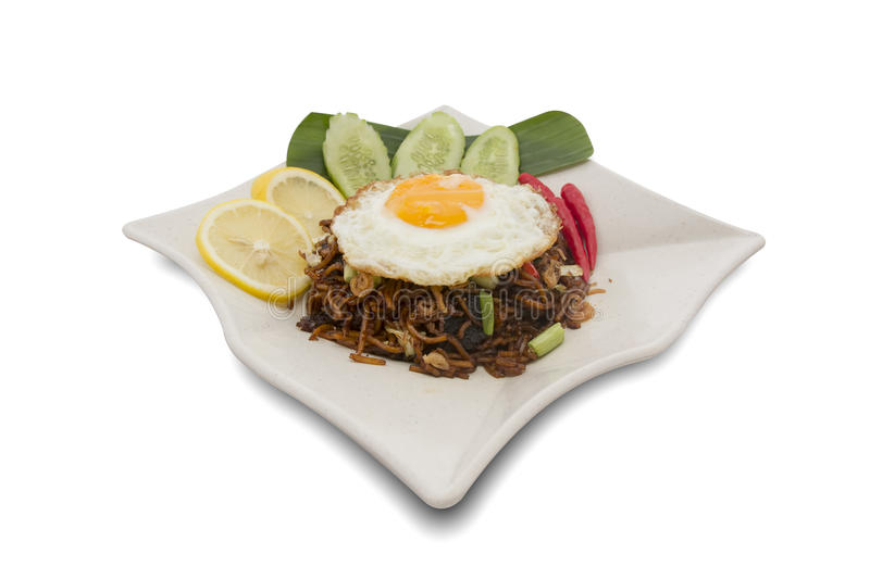 Malaysian Fried Noodle royalty free stock photos