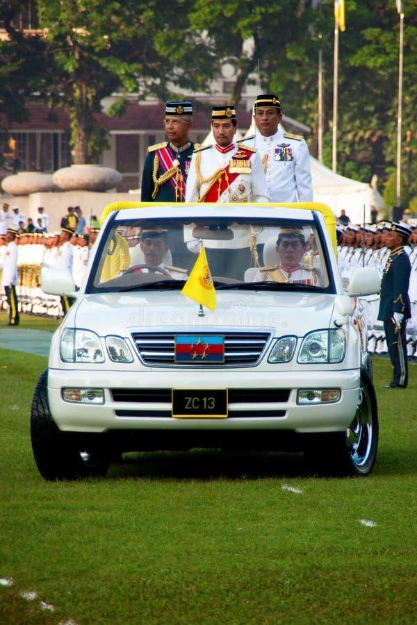 Malaysian King Birthday Parade Celebrations 2011 Editorial Photo