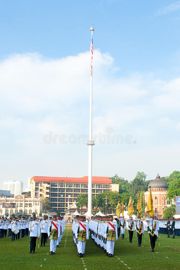 Download Malaysian King Birthday Parade Celebrations 2011 Editorial Photography - Image: 19806992