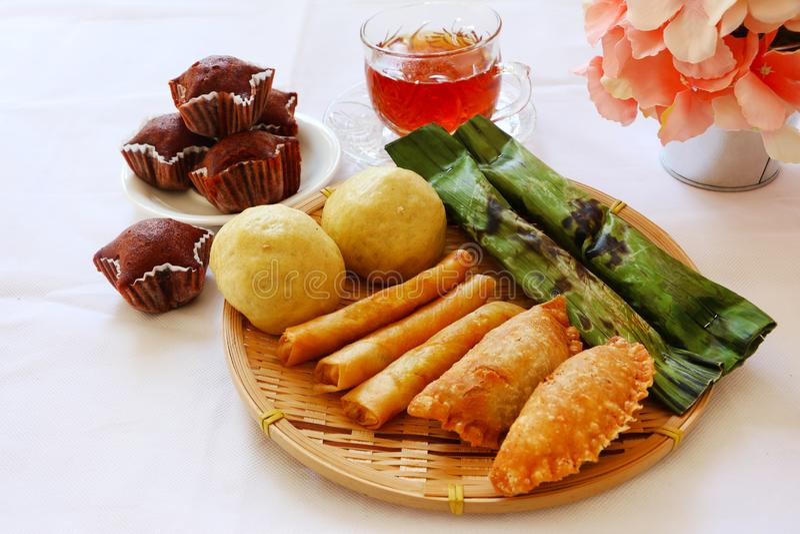Malaysian Traditional Cakes Kuih Muih Stock Image Image Of Rolls Nyonya 149090457