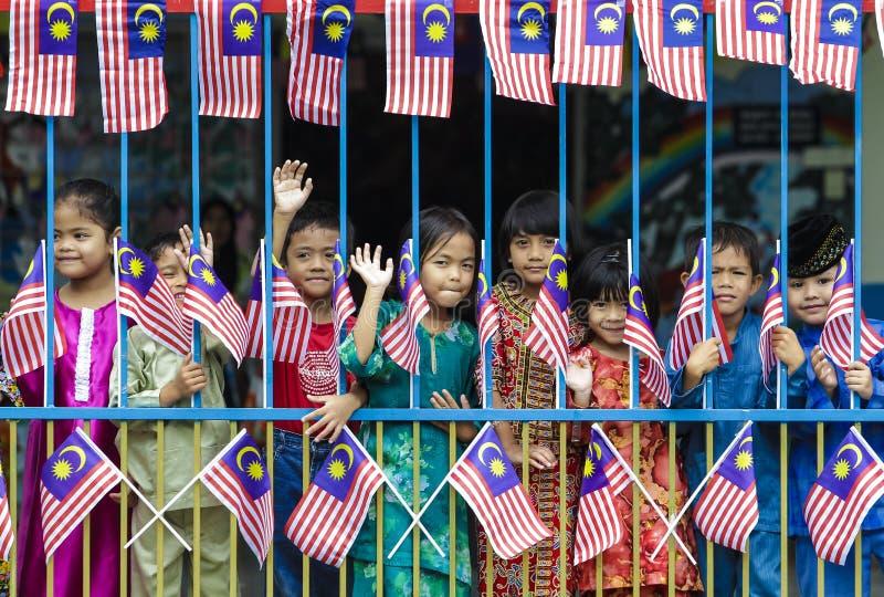 Malaysische Kinder stockfotografie