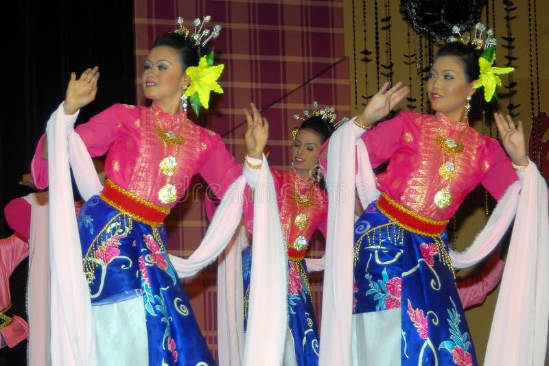 Malaysischer traditioneller Tanz lizenzfreie stockfotografie