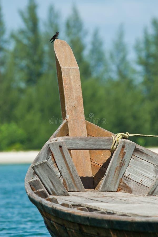 Malaysisches Boot stockfoto