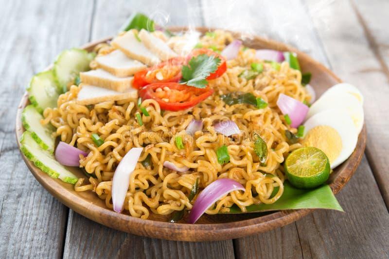 Malaysisches Küche maggi goreng mamak stockbild