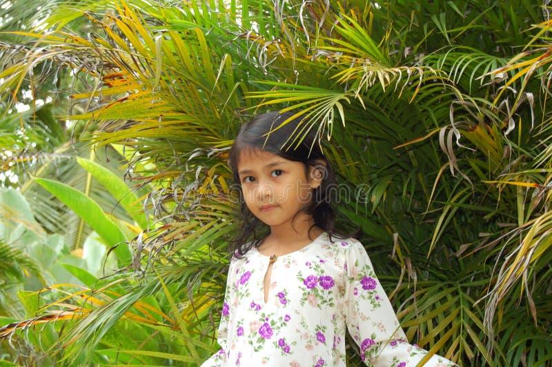 Malaysisches Mädchen stockfotos