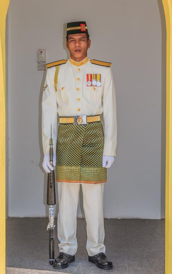 Malaysisk kunglig slott arkivfoto
