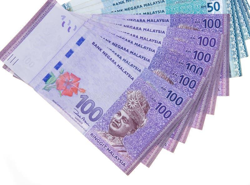 Malaysisk valuta royaltyfri bild
