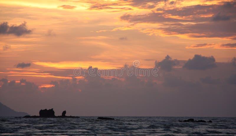 Malaysiskt hav arkivfoto