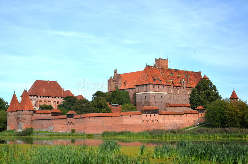 Download Malbork castle, Poland stock image. Image of fortification - 26639915