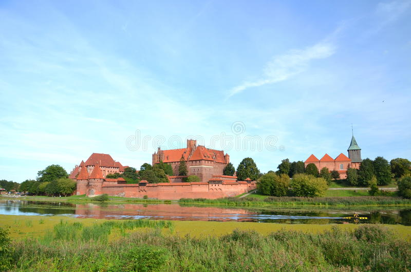 Download Malbork castle, Poland stock image. Image of building - 26639927