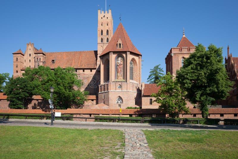 Malbork Castle stock photography