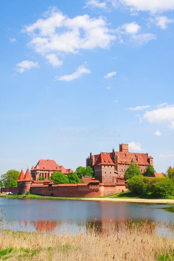 Malbork Schloss lizenzfreie stockbilder