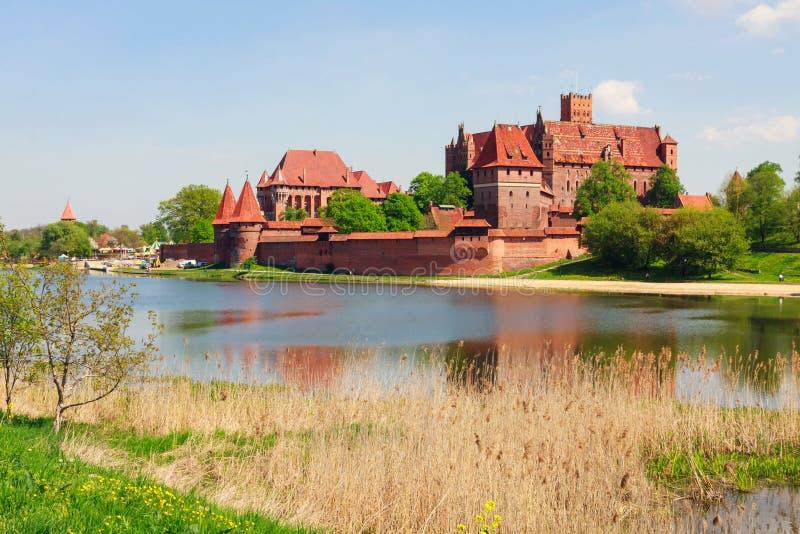 Malbork Schloss, Polen stockbild