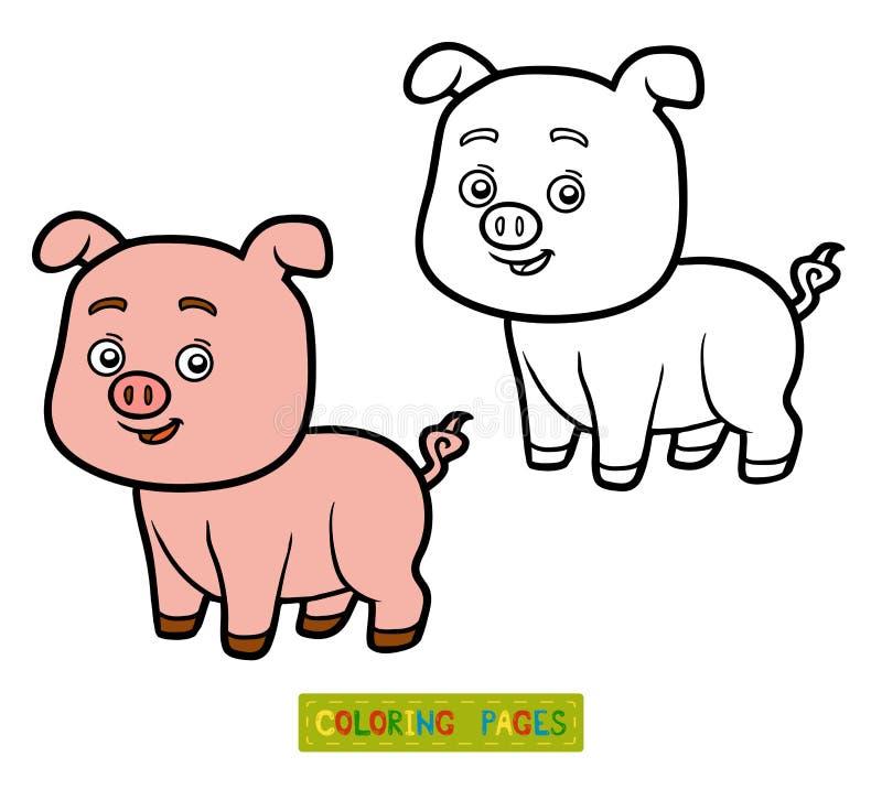 Ausgezeichnet Drei Kleine Schweine Die Seite Färben Zeitgenössisch ...