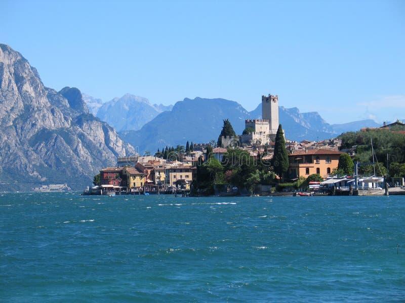 Malcesine (Italie) images libres de droits