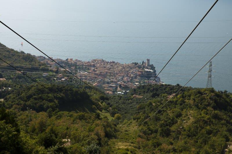 Malcesine Monte Baldo, Italy royalty free stock photos