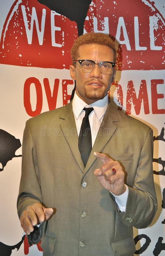 Malcolm X stock photo
