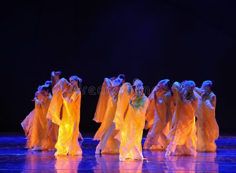 Maldición del drama de oro de la danza de la flor- la leyenda de los héroes del cóndor fotografía de archivo libre de regalías
