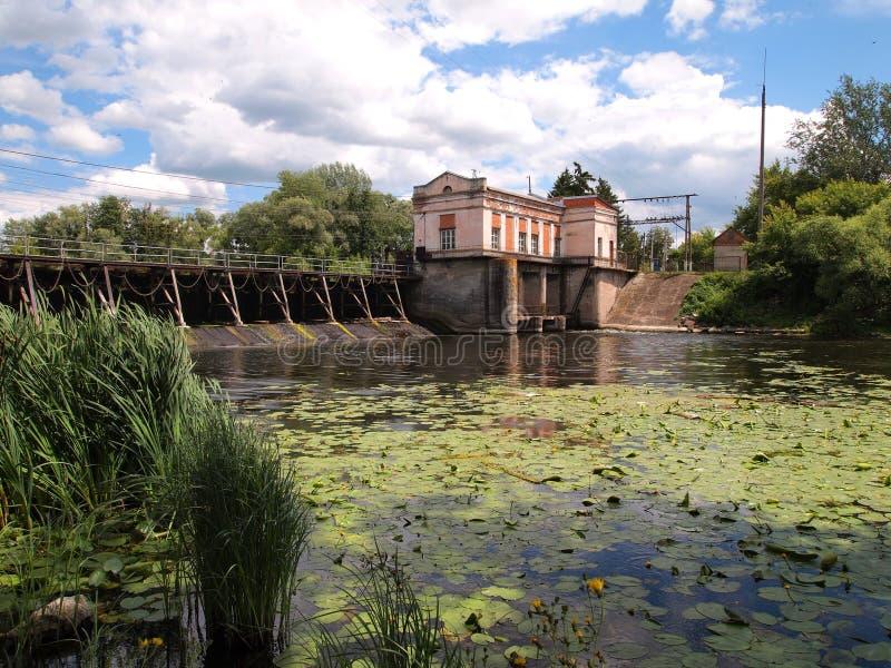 Maldición hidroeléctrica fotografía de archivo