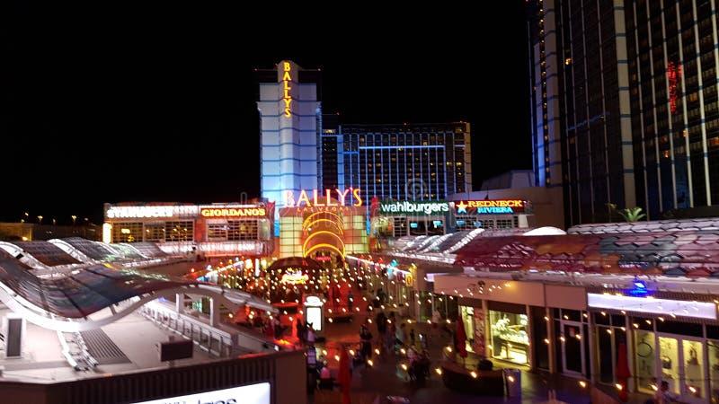` Maldito s Las Vegas, zona metropolitana, señal, ciudad, noche foto de archivo libre de regalías