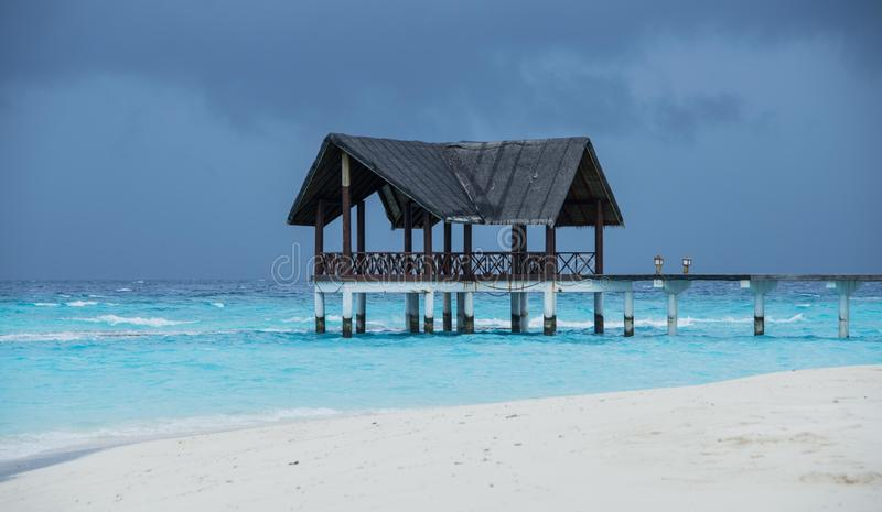 Maldives fotografia stock