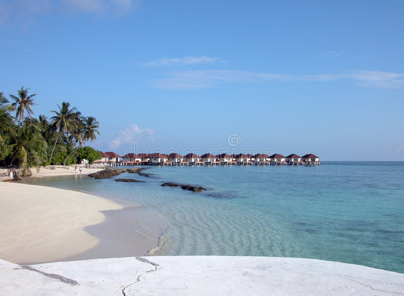 Download Maldives stock image. Image of maldives, holiday, sand - 7595973