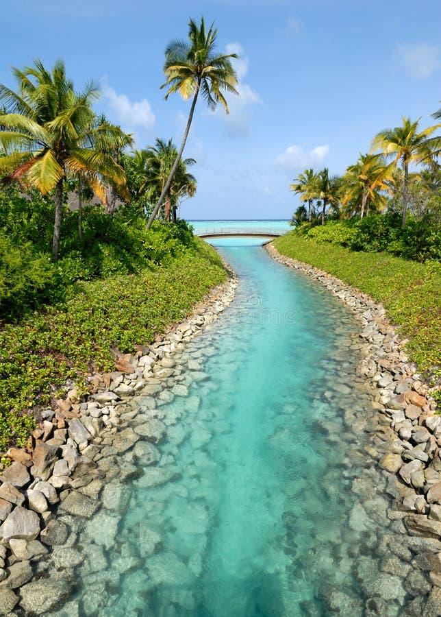 Free Maldives Beach Resorts Royalty Free Stock Photos - 6000028