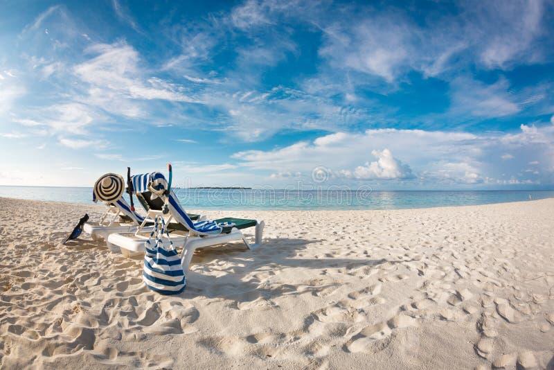 Maldives beach royalty free stock images