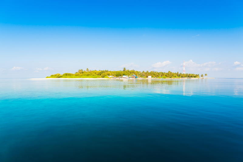 Maldives dzień tropikalny fotografia royalty free
