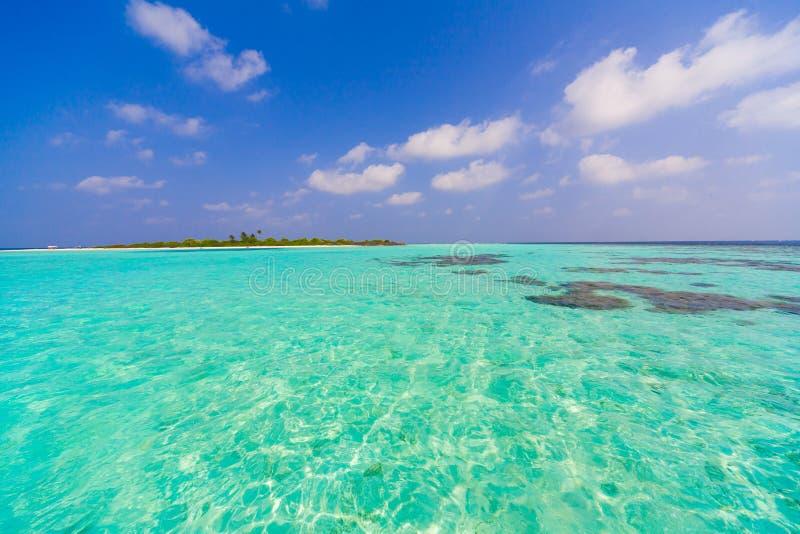 Maldives dzień tropikalny zdjęcie royalty free