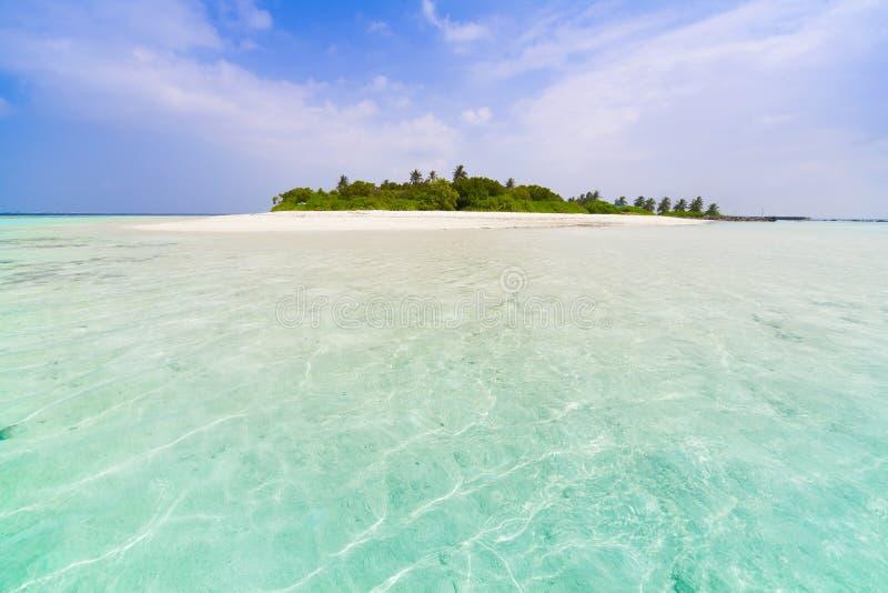 Maldives dzień tropikalny zdjęcia stock