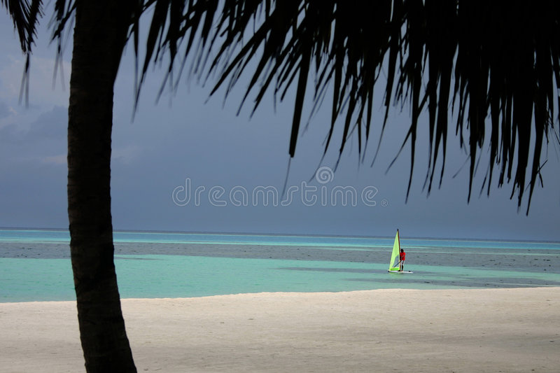 Maldives-Inseln stockfotos