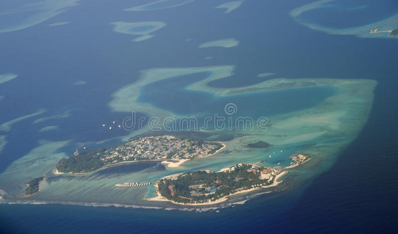 Maldives island royalty free stock photo