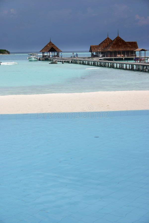 Maldives islands royalty free stock photos