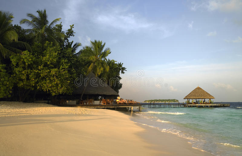Download Maldives Luxury Beach Resort Editorial Stock Photo - Image: 17773528