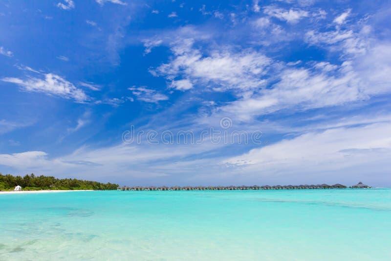 Maldives-Meerblick lizenzfreies stockfoto