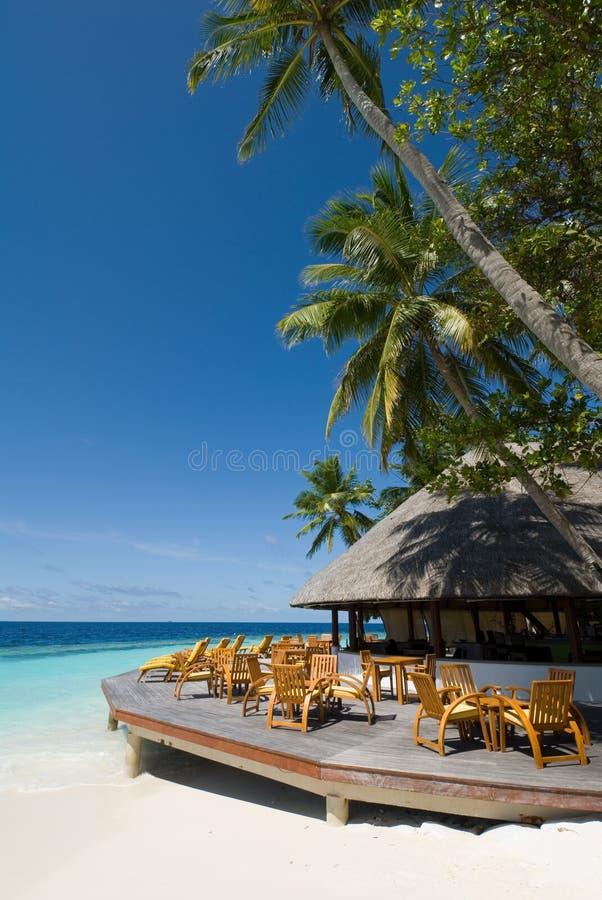 Maldives-Meerblick stockbild