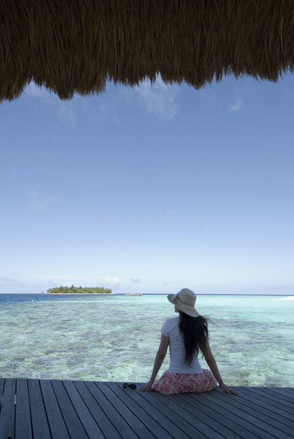 Free Maldives Seascape Royalty Free Stock Photography - 5247207