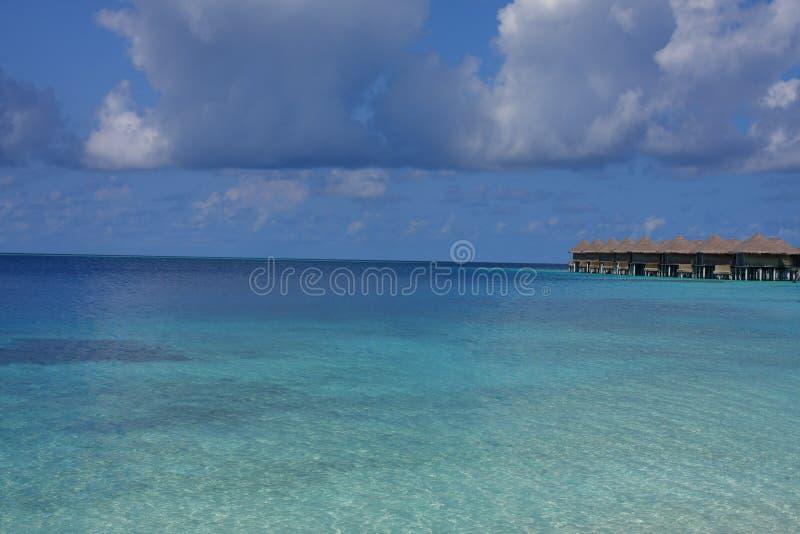 maldives semesterort arkivbilder