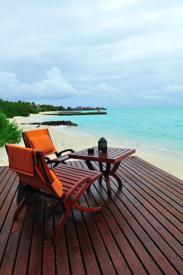 Maldives, Welcome To Paradise! Royalty Free Stock Photo